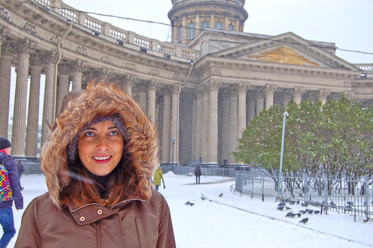 Catedral de Nossa Senhora de Cazã, em São Petersburgo