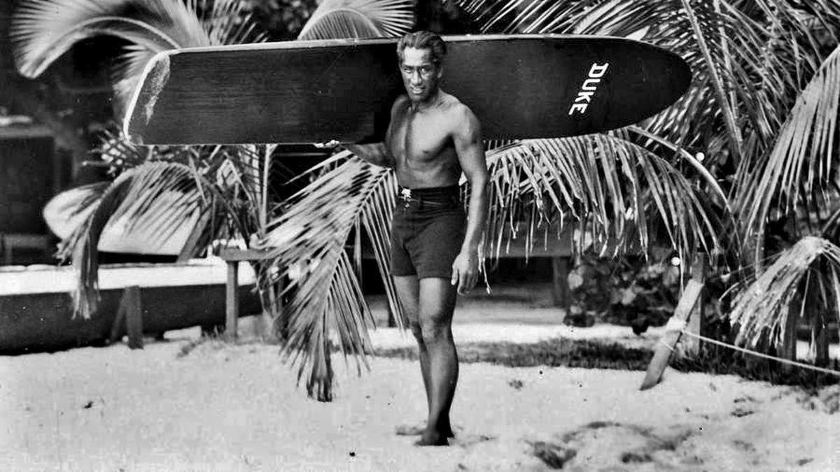 Duke Kahanamoku. A faceta olímpica do pai do surf.