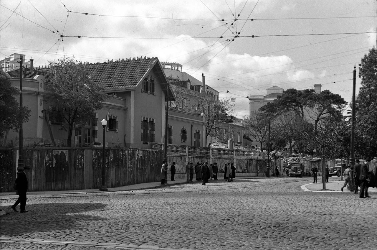Praça Duque de Saldanha e prolongamento da avenid