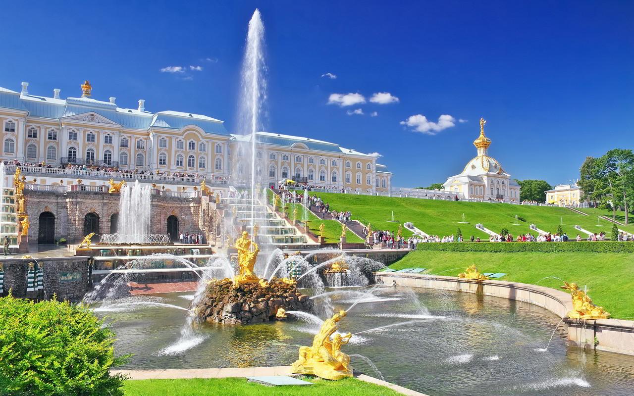 Peterhof, em São Petersburgo