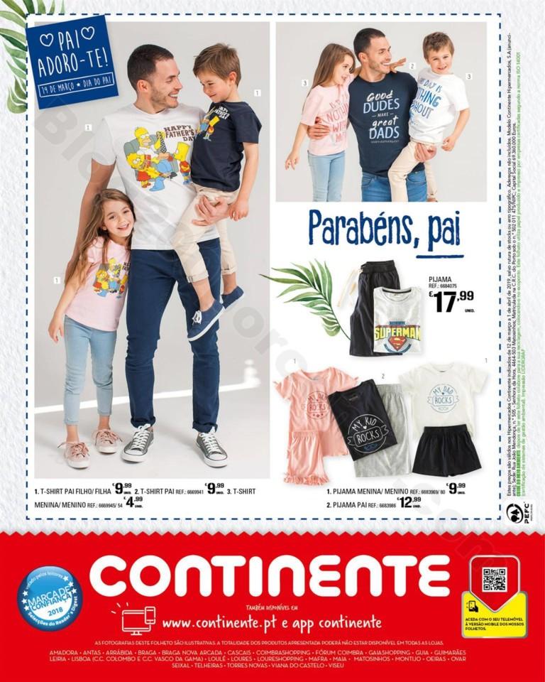 Antevisão Folheto CONTINENTE Moda Primavera promo