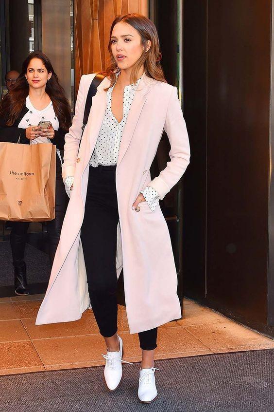 42f290ccdbd8 O look de Jessica Alba - Blog de Moda e Estilo