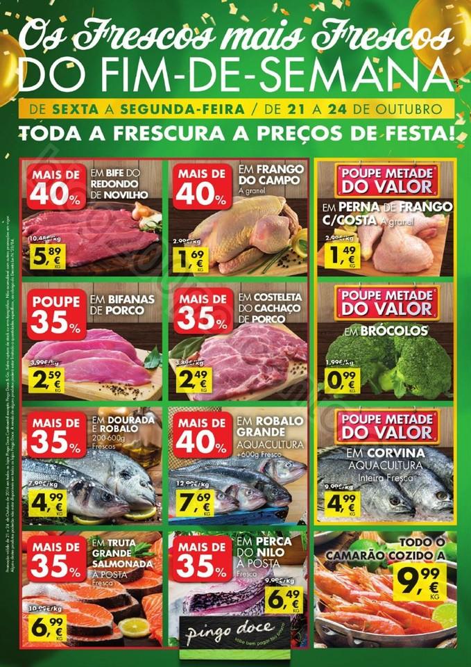 Antevisão Folheto PINGO DOCE Fim de semana de 21