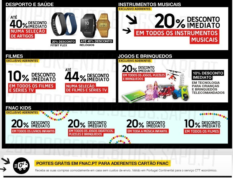 Flash Sales   FNAC   Dia 6 dezembro