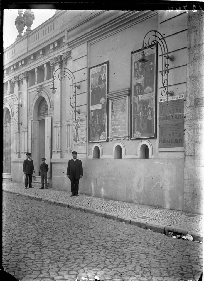 Cinema Chiado Terrasse, foto de Alberto Carlos Lim