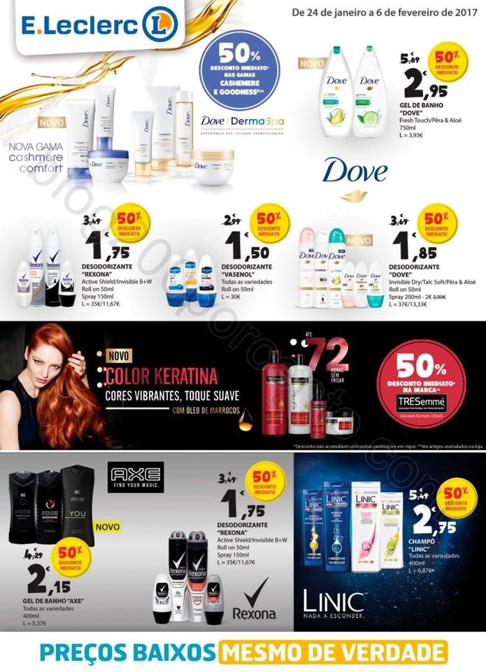 Novo Folheto E-LECLERC Extra promoções de 24 jan