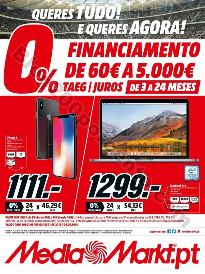 Antevisão Folheto MEDIA MARKT Financiamento Promo
