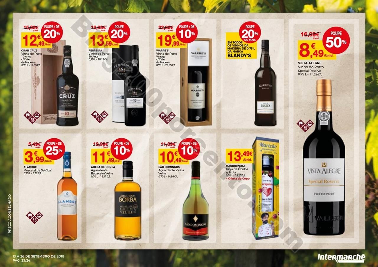 Antevisão Folheto INTERMARCHÉ Feira de vinhos pr
