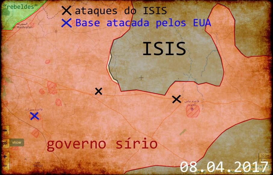ataques terroristas dos EUA/ISIS