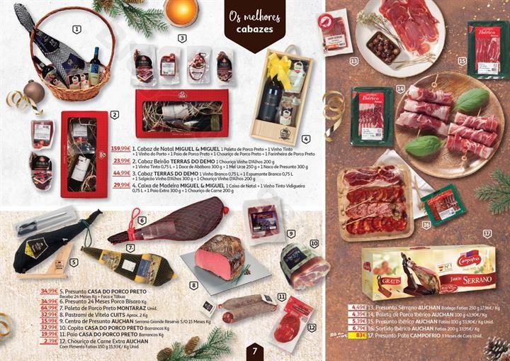 Antevisão Folheto AUCHAN Natal Gourmet Promoçõe