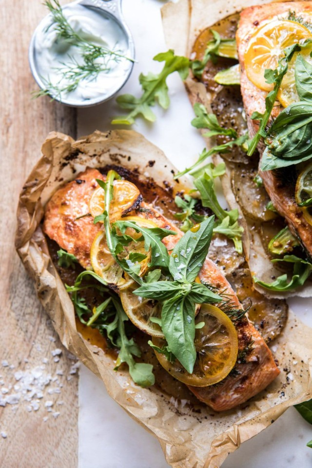 Parchment-Baked-Lemon-Salmon-and-Potatoes-with-Dil