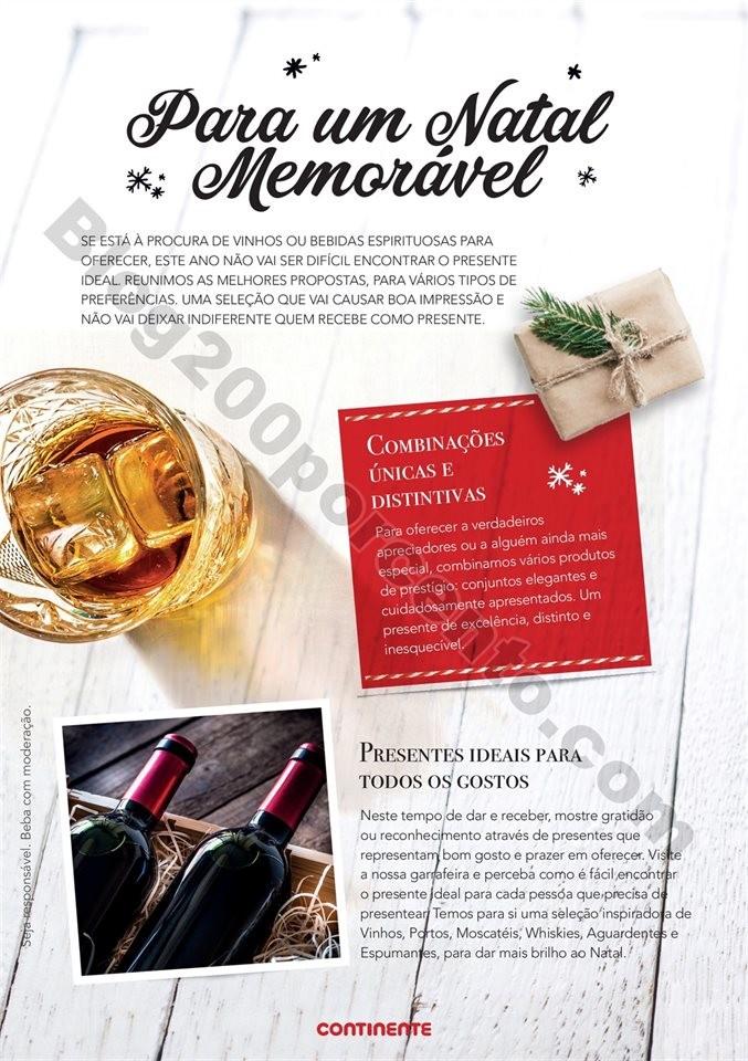 43caa5066f2 Antevisão Folheto CONTINENTE Natal bebidas Promoções de 29 outubro a ...
