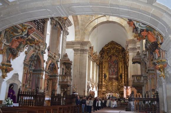Interior da Igreja de S. Miguel de Refojos