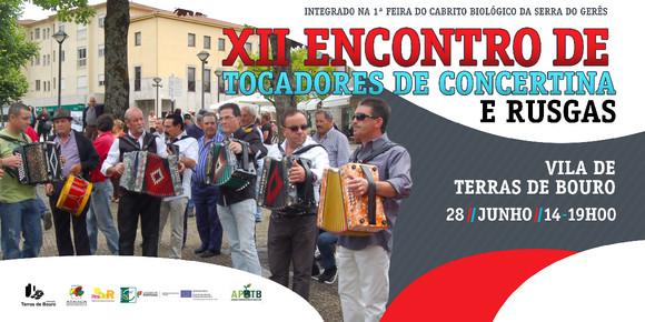 Flyer - XII Encontro de Concertinas- 2014