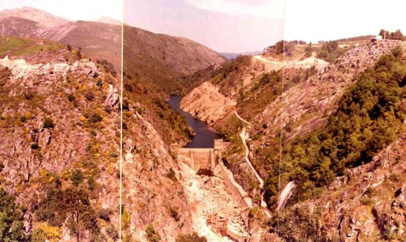 Lindoso barragem antiga