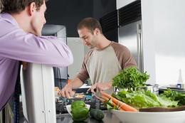 homens na cozinha - o mordomo
