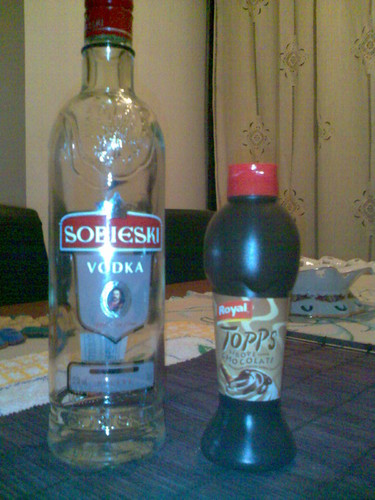 Vodka e Topping