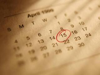 O calendário...sempre presente nas nossas vidas...