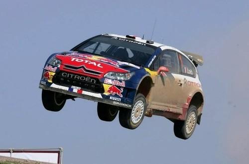 Sebastien Loeb pode bem voar para a terceira vitória em Portugal...