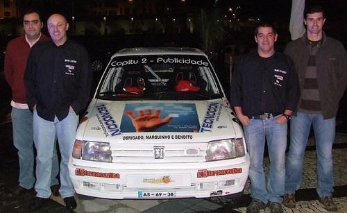 Com os nossos amigos Miguel Bendito e Marquinho Sousa...Obrigado!