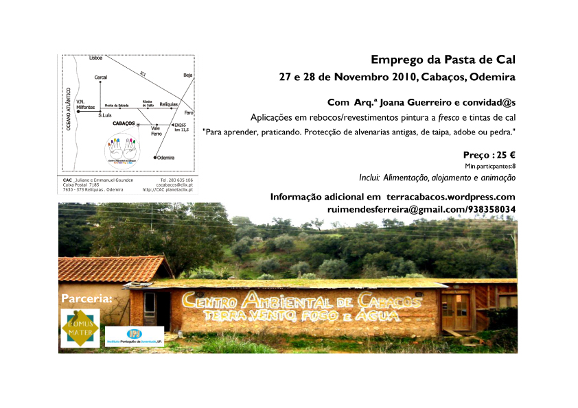 Cartaz Oficina 27 e 28 Nov. 2010