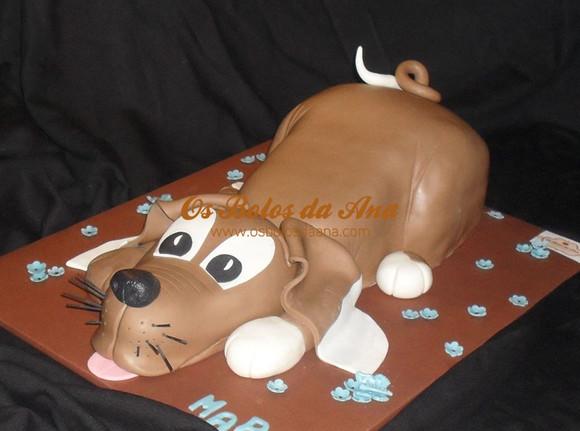 Bolo 3D Cachorro - Puppy Dog Cake