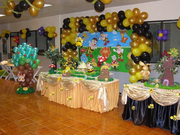 Blog de festafeliz : Dicas Para Festas, Decoração para Menina Abelhinha