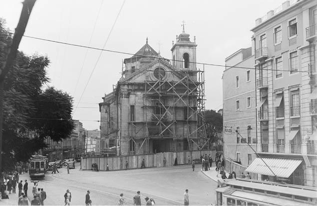 Igreja do Socorro, Lisboa (E.Portugal, 1949)