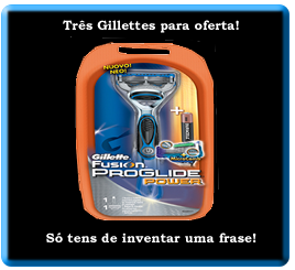 Passatempo 1001Blogs Parceria com Gillette Portugal - Inventa uma frase - 9015108_rMPSO