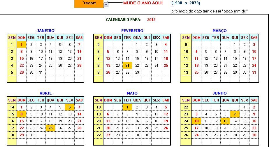 calendários 2078