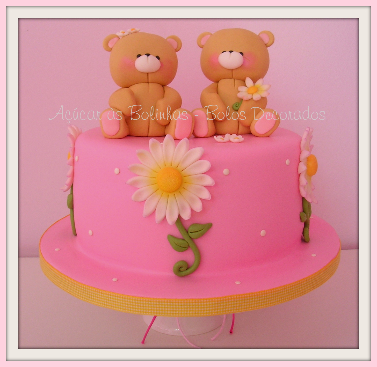 1000+ Images About Teddy Bear's Cakes On Pinterest