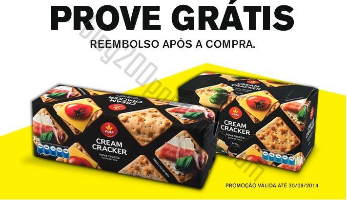 Reembolso VIEIRA Cream Crackers até 30 setembro