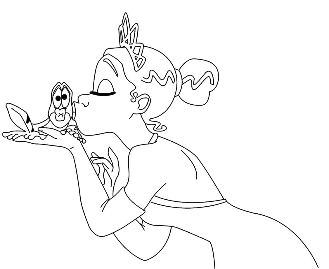 Pinta A Princesa E O Seu Pr 237 Ncipe Sapo 3 A Magia Da Disney