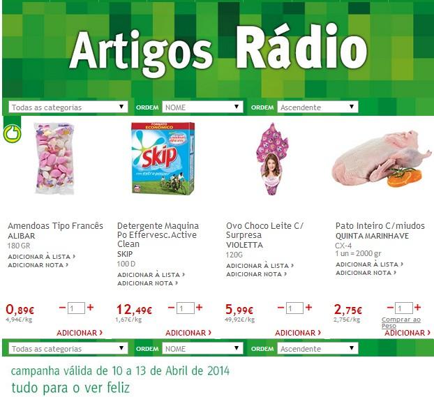 Novas Promoções   JUMBO   de 10 a 13 abril - Arigos radio