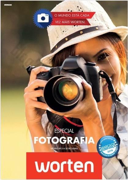 Novo Folheto WORTEN Especial Fotografia - de 2 a 22 julho