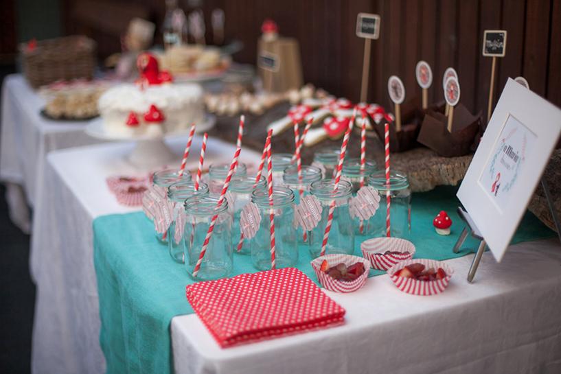 Capuchinho Vermelho - decoração de festas